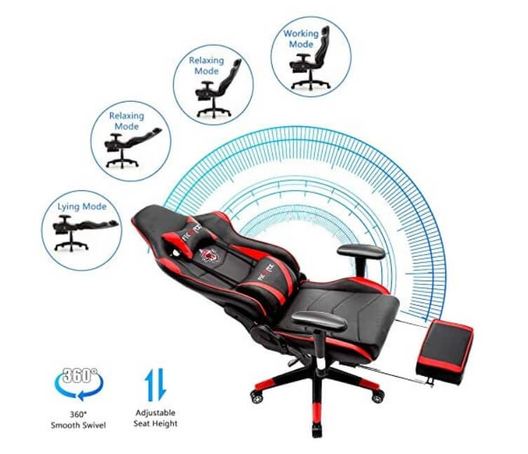 ficmax gaming chair with features mode