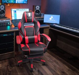 KILLABEE massage gaming chair with features