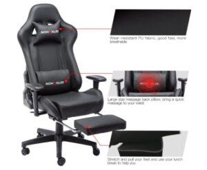 Nokaxus Gaming Chair features