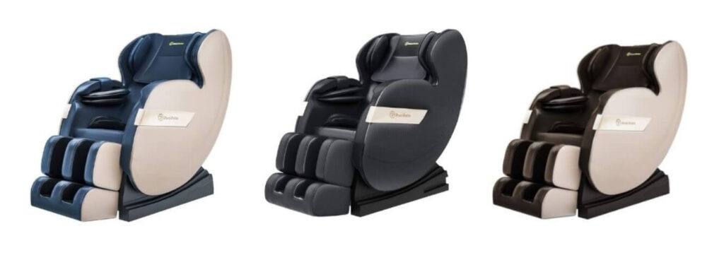 real relax shiatsu massage massage chair color variations
