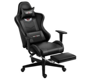 Shuanghu Gaming Chair with Footrest