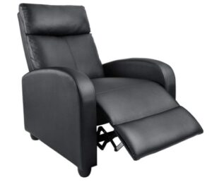 Homall Recliner Chair Padded Seat Pu Leather for Living Room