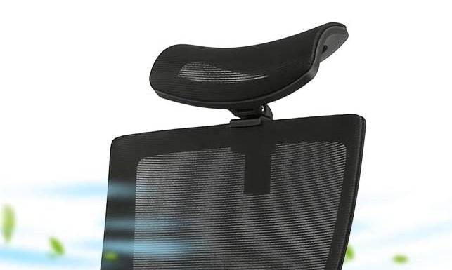Home Office Chair Mesh Headrest