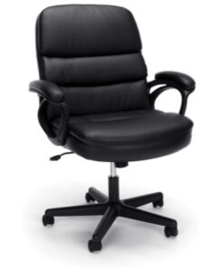 OFM ESS Collection Bonded Leather Executive Chair with Arms